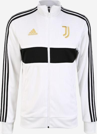 ADIDAS PERFORMANCE Športna jopa na zadrgo 'Juve 3S Trk Top' | zlata / črna / bela barva, Prikaz izdelka