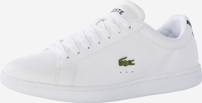 LACOSTE Sneakers laag 'Carnaby BL 1' in de kleur Wit, Productweergave