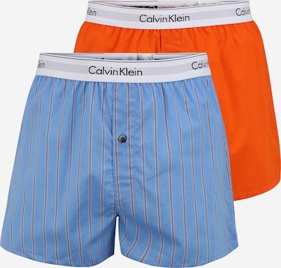 Calvin Klein Underwear Boxershorts in blau / orange, Produktansicht