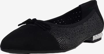 veganino Ballet Flats in Black