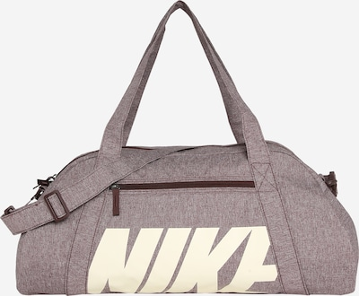 NIKE Sportovní taška 'GYM CLUB' - čokoládová / bílá, Produkt