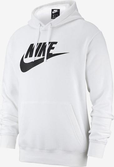 Nike Sportswear Kampsun 'M NSW CLUB HOODIE PO BB GX' must / valge, Tootevaade