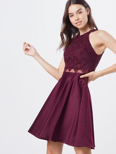 Laona Cocktailkleid in rot, Modelansicht