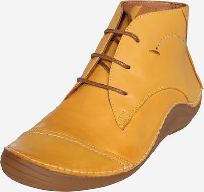 COSMOS COMFORT Chaussure à lacets en jaune, Vue avec produit