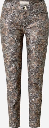 MOS MOSH Spodnie 'Victoria Jive' w kolorze ciemnobrązowy / ciemnoszarym, Podgląd produktu