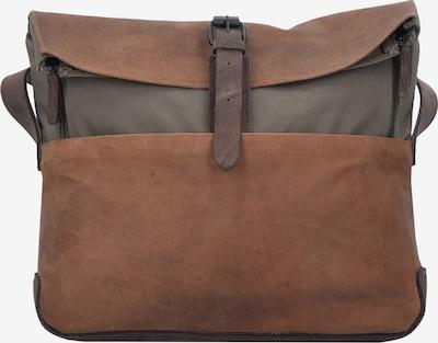 Harold's Messenger 'Twister' in braun / dunkelgrau, Produktansicht