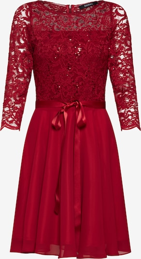 SWING Cocktail dress in Wine red, Item view