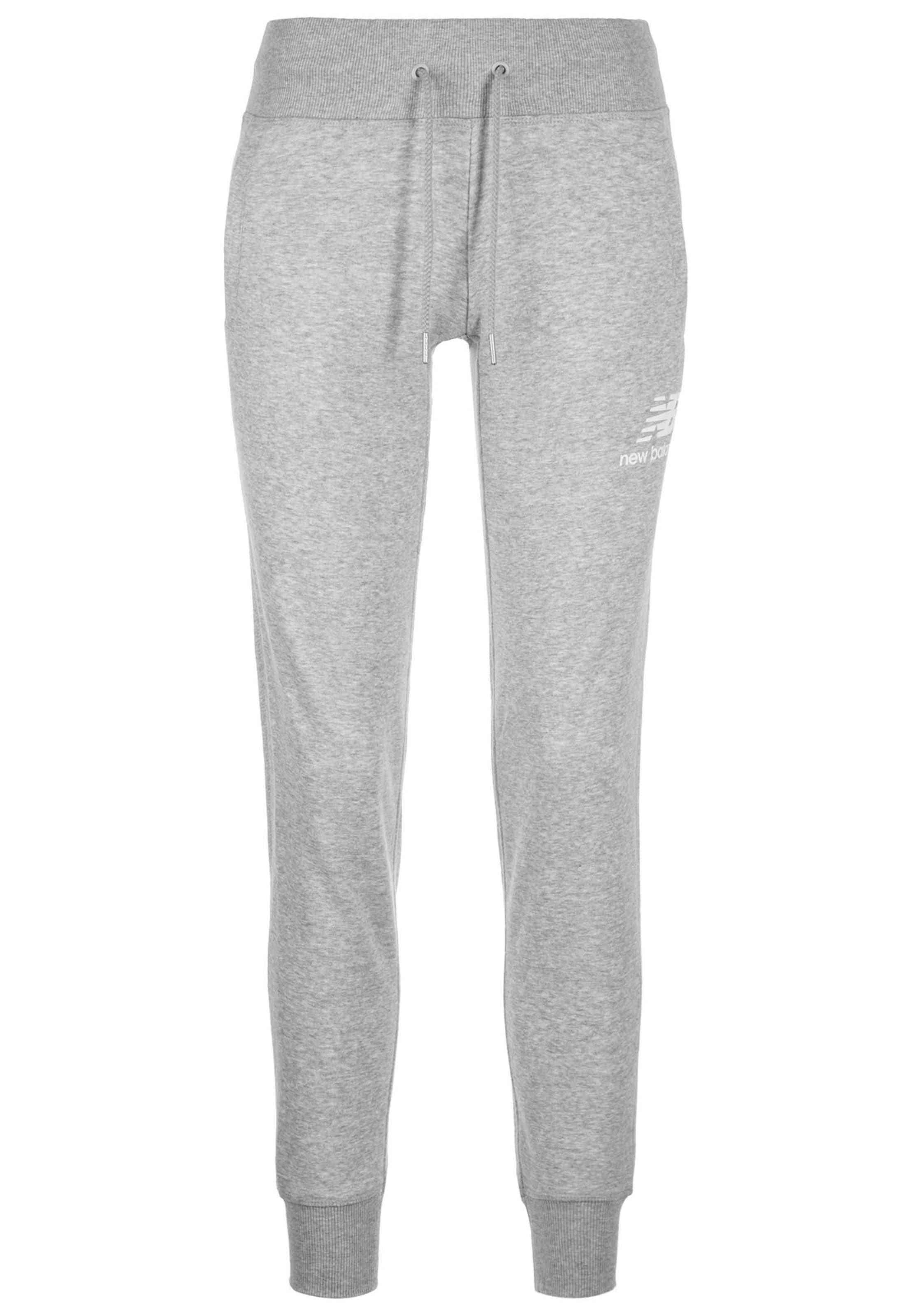 Pantalon 'essentials' New Balance En Chiné Gris 5EqUqfA