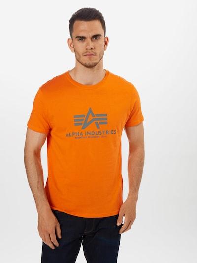 ALPHA INDUSTRIES T-Shirt en orange: Vue de face