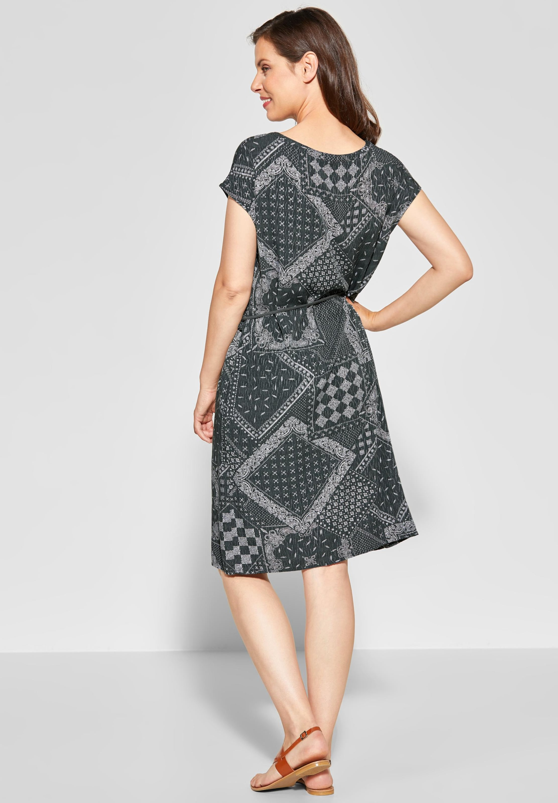 SmaragdWeiß Kleid Kleid In Cecil Cecil QBEdxoWrCe