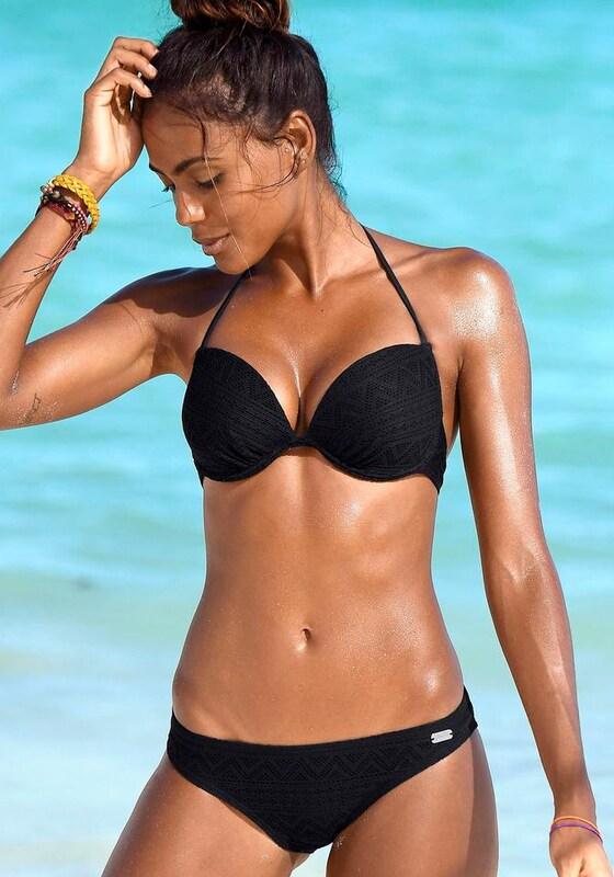 BUFFALO Push-up-Bikini in Häkeloptik