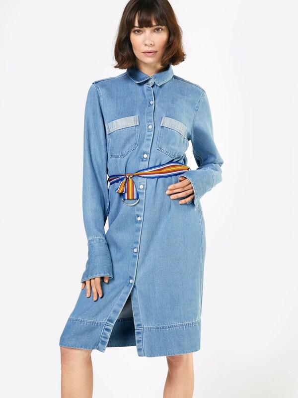 Denham En Robe Denim chemise 'mazarine' Bleu XiOuwZPkT