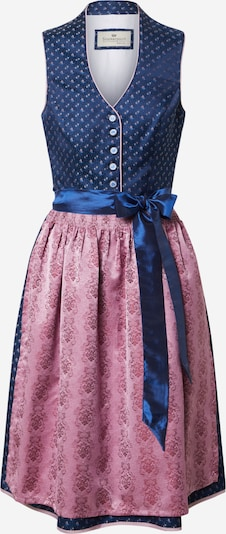 STOCKERPOINT Dirndl 'Cynthia' in blue / pink, Item view