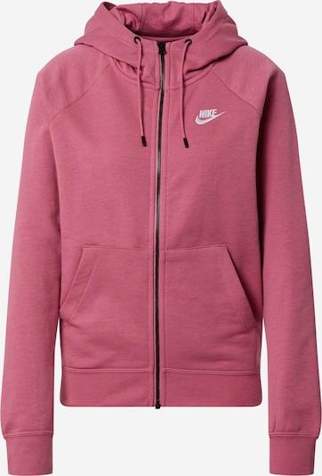 Nike Sportswear Veste de survêtement en violet, Vue avec produit