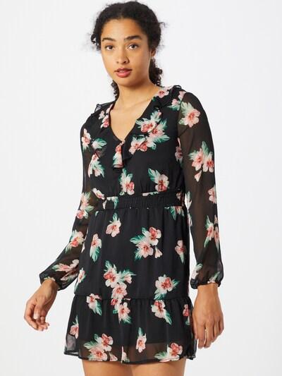 Tally Weijl Kleid in grün / rosa / schwarz, Modelansicht