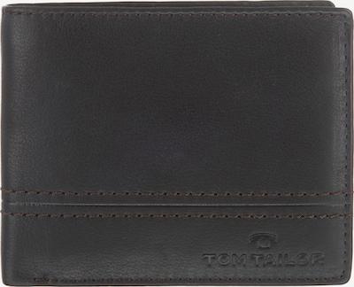 TOM TAILOR Geldbörse 'Jerrie' in dunkelbraun, Produktansicht