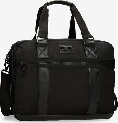 Pepe Jeans Laptoptasche in schwarz, Produktansicht