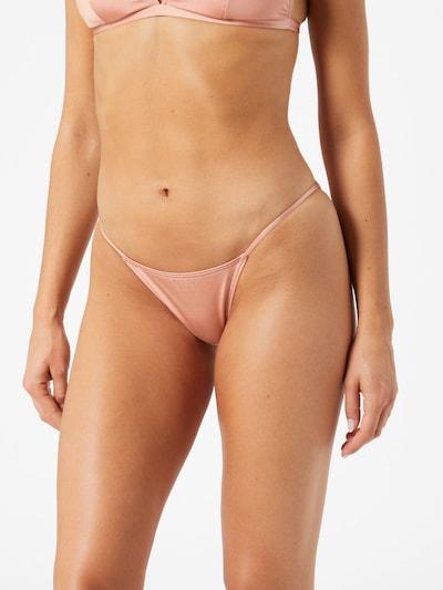 Bikinio kelnaitės 'NADINE' iš PIECES , spalva - rožių spalva, Modelio vaizdas