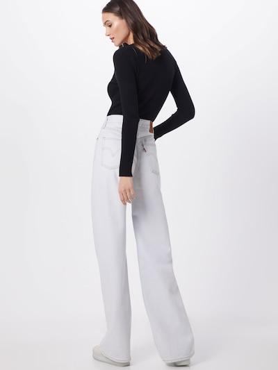 LEVI'S Jeansy 'RIBCAGE' w kolorze białym: Widok od tyłu