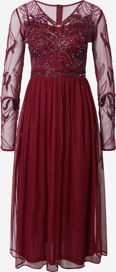 Frock and Frill Cocktail dress in Burgundy, Item view