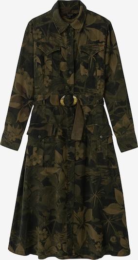 Desigual Kleid in khaki / dunkelgrün, Produktansicht