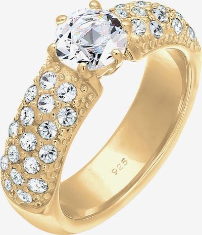 ELLI PREMIUM Ring in Gold / Transparent, Item view