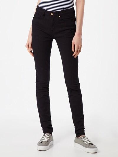 TOMMY HILFIGER Jeans 'HERITAGE COMO SKINNY RW' in black denim, Modelansicht