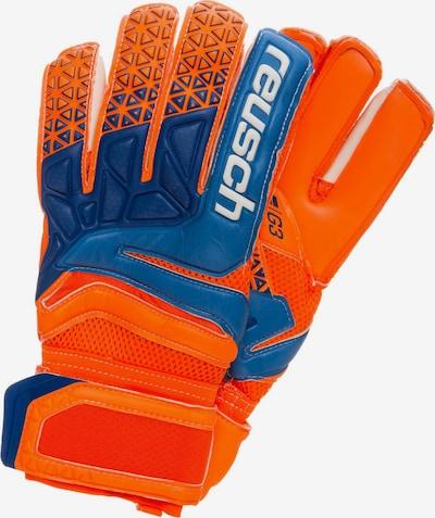 REUSCH Sporthandschoenen 'Prisma Prime G3' in de kleur Blauw / Neonoranje, Productweergave