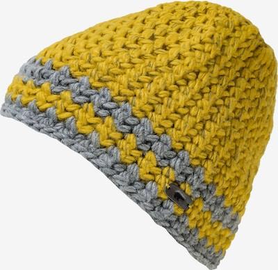 Eisbär Mütze in gelb / grau, Produktansicht