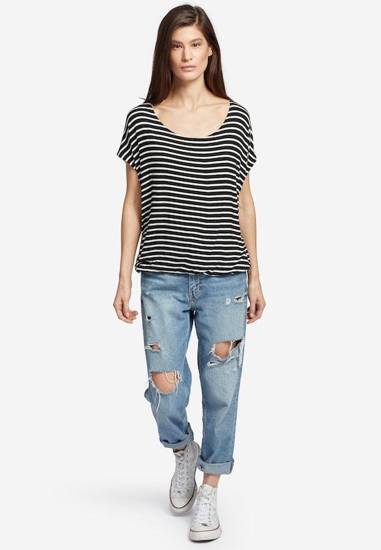 Khujo T-Shirt 'Meltania' in schwarz     weiß  Mode neue Kleidung ad9fcc