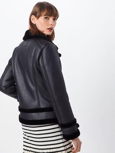 Demisezoninė striukė 'ELAINE' iš ONLY , spalva - juoda: Vaizdas iš galinės pusės
