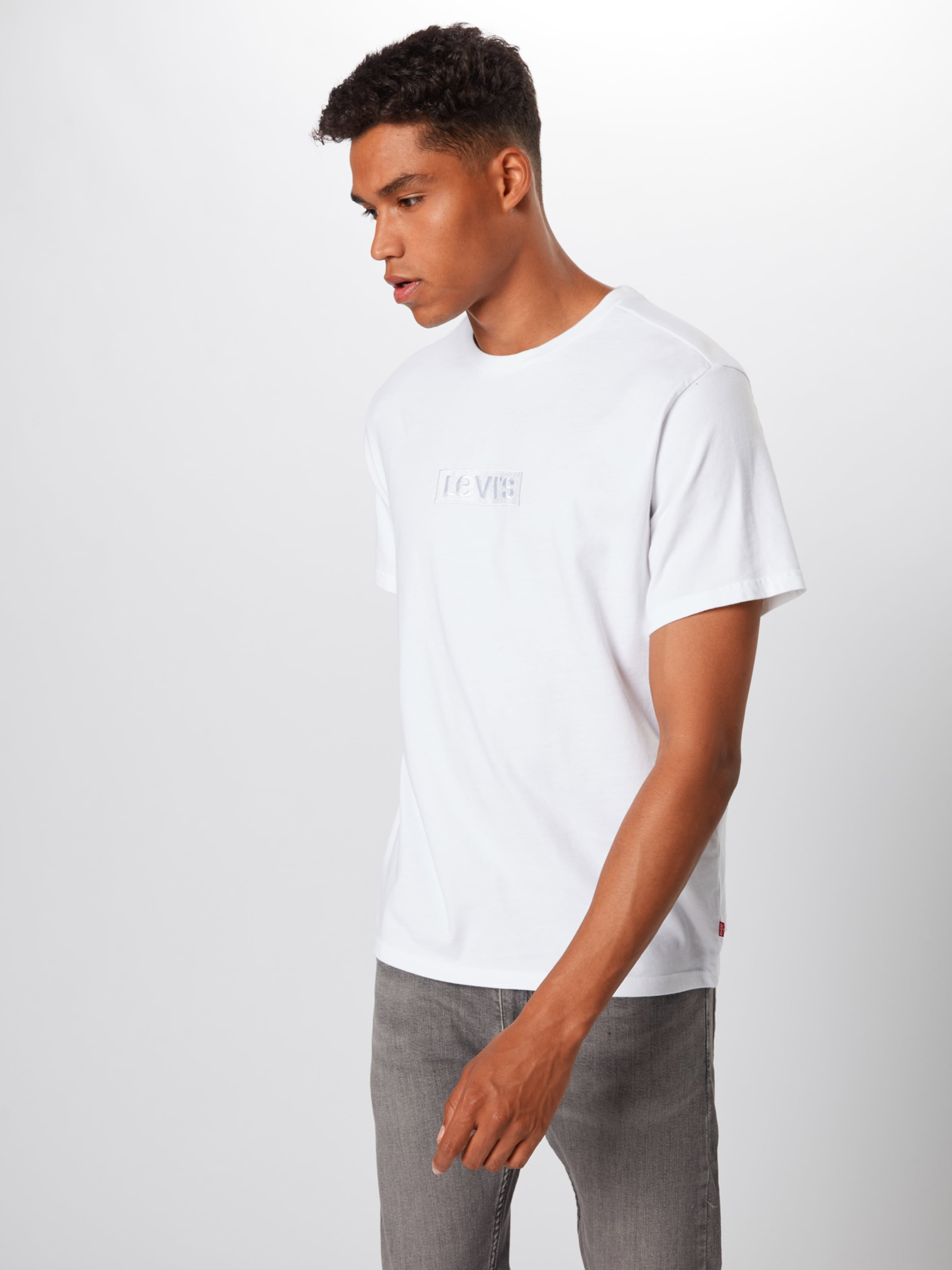 Levi's Blanc Levi's T En shirt hdtCQsr