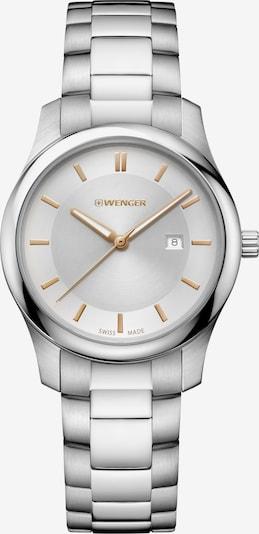 WENGER Analoog horloge 'City Classic' in de kleur Zilver, Productweergave