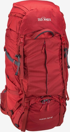 TATONKA Trekkingrucksack 'Yukon' in rot, Produktansicht