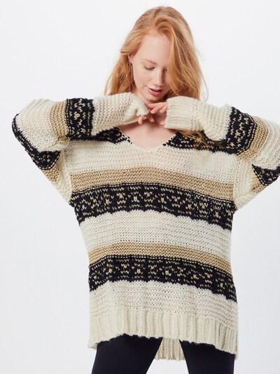Sofie Schnoor Trui in de kleur Wit, Modelweergave