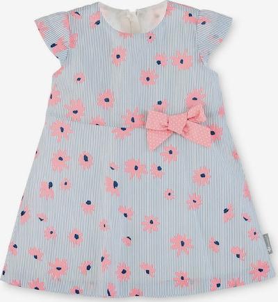 STERNTALER Kleid in navy / grau / rosa / weiß, Produktansicht