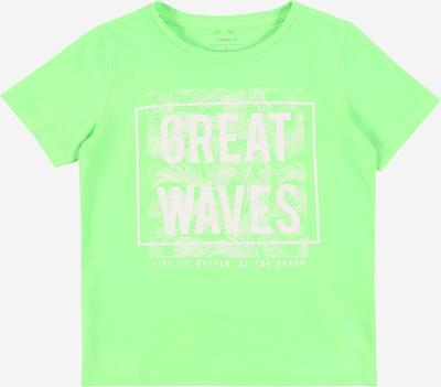 NAME IT Shirt 'NMMJANAL' in neongrün, Produktansicht