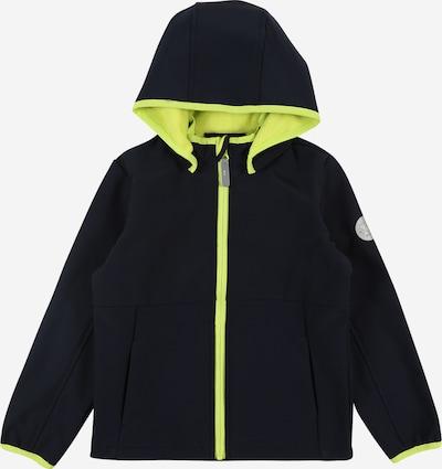 NAME IT Jacke 'Malta' in dunkelblau / neongelb, Produktansicht