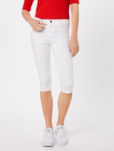 ONLY Jeggings 'Onlrain' in weiß, Modelansicht