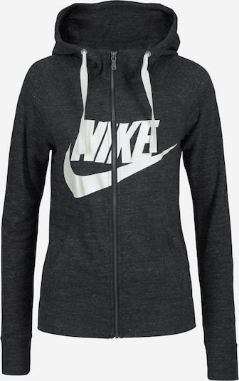 Nike Sportswear Kapuzensweatjacke 'GYM VINTAGE HOODIE FZ GX' in dunkelgrau, Produktansicht