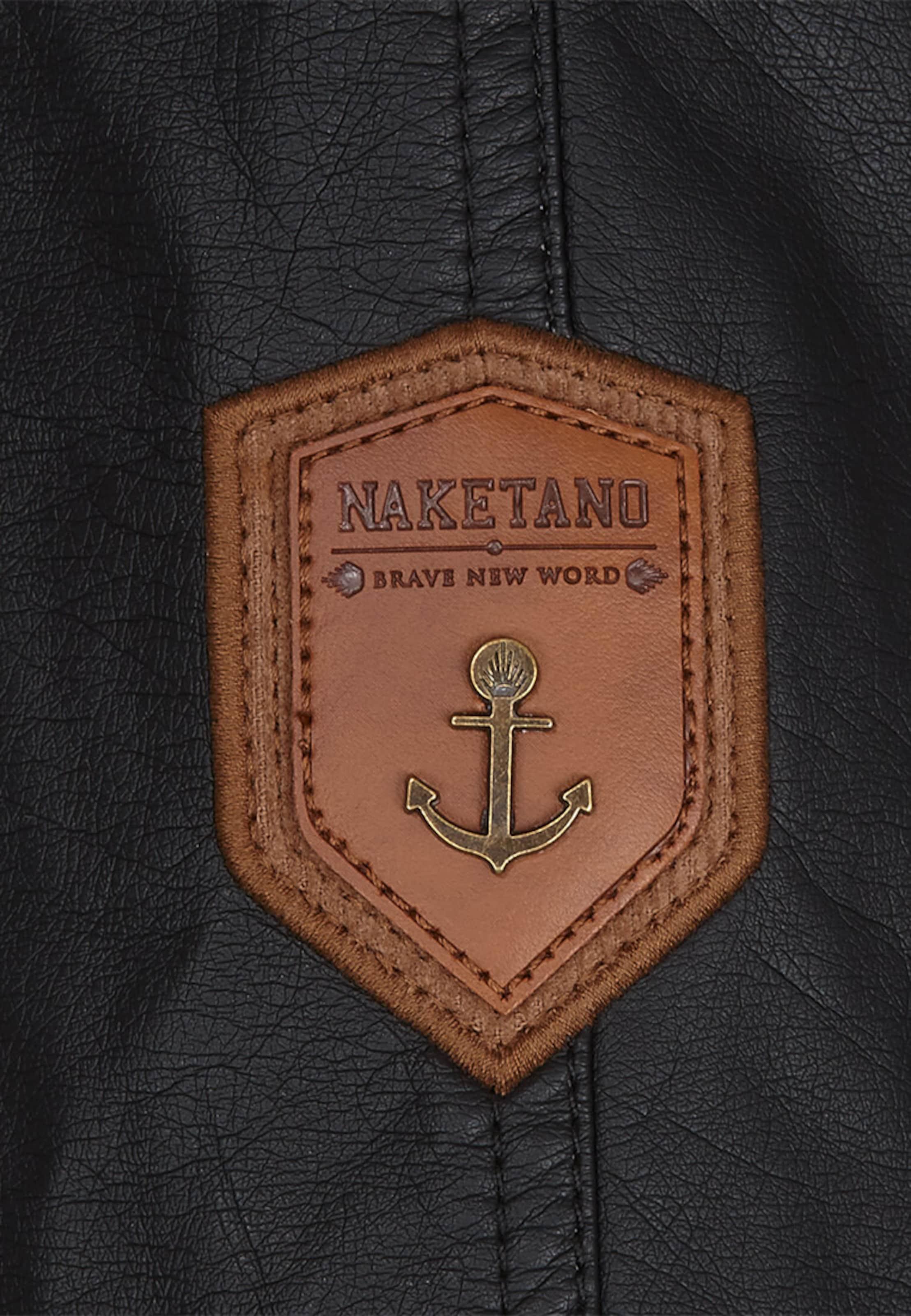 Naketano Naketano Schwarz Jacke In Jacke 76fbyYg
