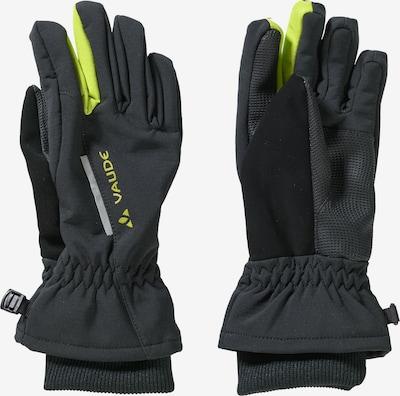 VAUDE Handschuhe in neongelb / schwarz, Produktansicht