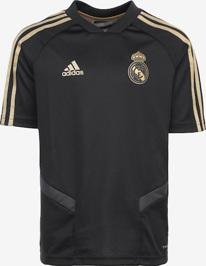 ADIDAS PERFORMANCE Trainingsshirt 'Real Madrid' in gold / schwarz, Produktansicht