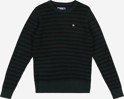 Jack & Jones Junior Pullover 'MARTIN' in schwarz: Frontalansicht