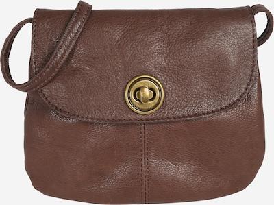 PIECES Bolso de hombro en marrón oscuro, Vista del producto