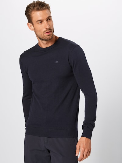 SCOTCH & SODA Pull-over en bleu nuit: Vue de face