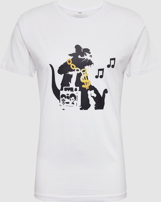 'banksy WitAbout Hiphop You Rat Tee' In Zwart Shirt Mister Tee jqUzGLpSMV