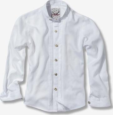 STOCKERPOINT Button Up Shirt 'Leon Jr' in White