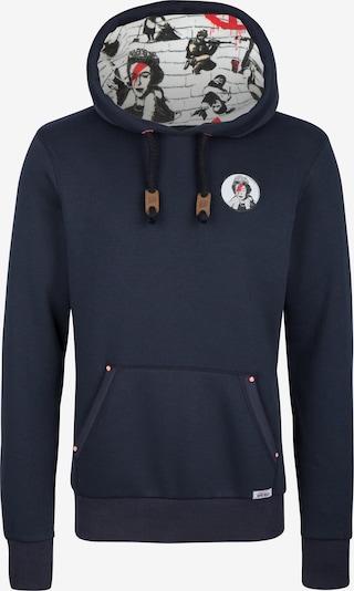 HOMEBASE Sweatshirt in dunkelblau / rot / schwarz / weiß, Produktansicht