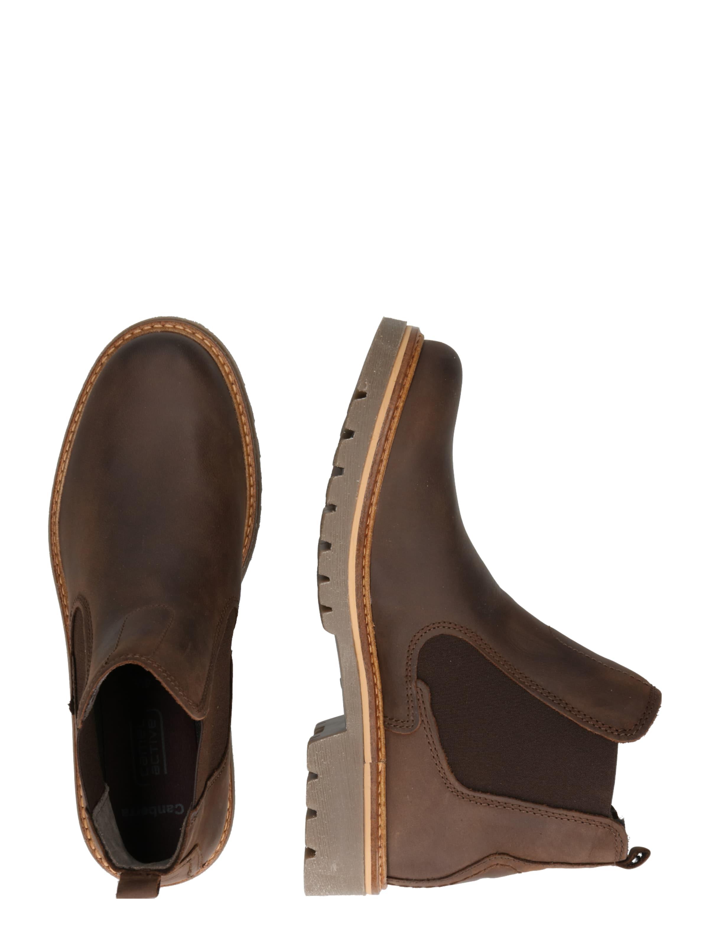 'canberra' Boots Mokka Camel Active Chelsea In ARj5L4